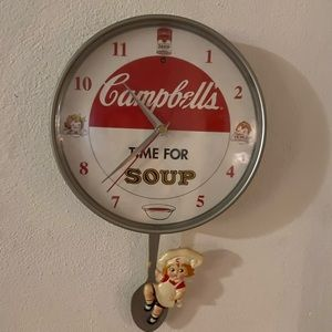 Campbell's Soup Wall Clock